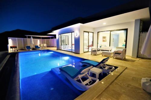 Kalkan Villa Nur adres