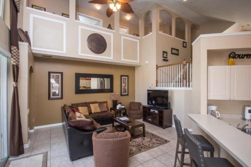 Sandra's Windsor Palms Villa - Six Bedroom Home - Kissimmee, FL 34747