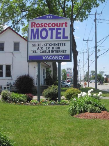Rosecourt Motel - Stratford, ON N5A 2N9