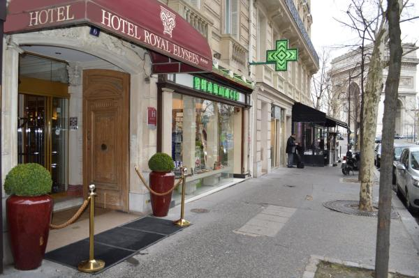 Hotel Royal Élysées