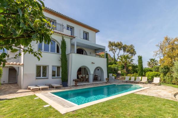 Villas in Grimaud in le Var (83), 1 km von Saint-Tropez