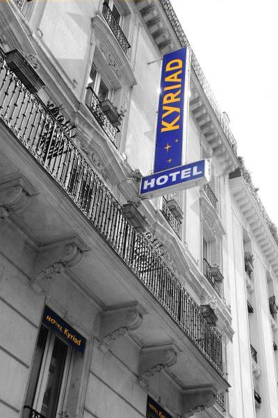 Hotel Kyriad Paris XIII Italie Gobelins