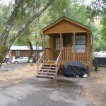 Russian River Camping Resort One-bedroom Cabin 1