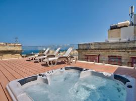 酒店照片: Valletta Harbor Views Penthouse