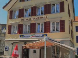 Hotel fotoğraf: Pizzeria-Pension Gambrinus