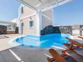 A picture of the hotel: Secret Earth Villas - Santorini