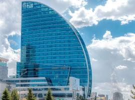 A picture of the hotel: The Blue Sky Hotel and Tower