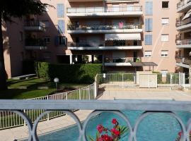Hotel fotoğraf: Cœur bleu - 2 pcs+piscine