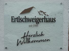 Hotel photo: Ertlschweigerhaus