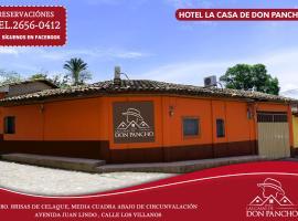Hotel photo: Las casas de Don Pancho