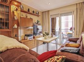 Hotel photo: Three-Bedroom Apartment in Pineda de Mar