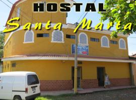 A picture of the hotel: Hostal Santa Marta