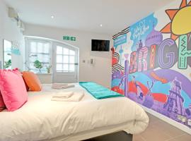 Hotel photo: Artist Studio - Super Central Brighton - Sleeps 2/3 guests - Free Wifi