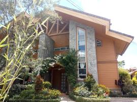 Hotel photo: Forest Log Cabin at Camp John Hay