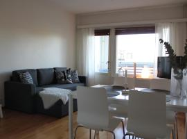 Hotel photo: The cosy apartment with own private sauna and balcony