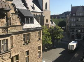 Hotel photo: Blick zur Thomaskirche