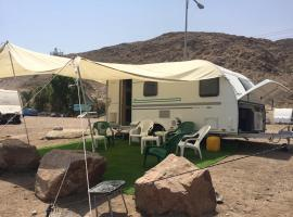 A picture of the hotel: Caravan by the Beach Eilat