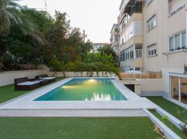 Hotel Foto: Alvalade terrace and pool