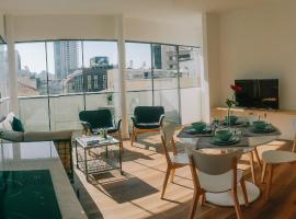 Hotel photo: Nachlat Binyamin Bauhaus Luxury Apartments