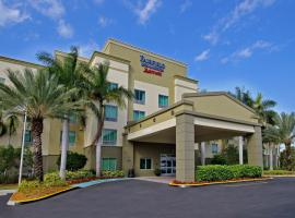 Hotel foto: Fairfield Inn & Suites Fort Lauderdale Airport & Cruise Port