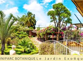 A picture of the hotel: Le Jardin Exotique Hotel