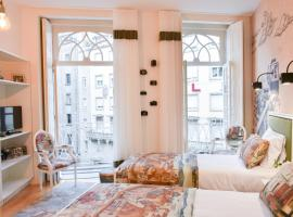 Hotel photo: Charming Studio w/ Balcony next to Aliados Square