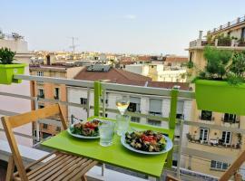 Hotel photo: Cosy Studio avec Vue Cimiez Dubouchage
