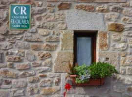 Hotel photo: Casa Rural Eikolara Landetxea