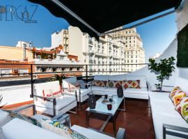 Hotel photo: Gran Via with a sunny terrace