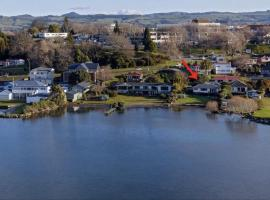 Hotel fotoğraf: Lakefront Rotorua House in Town