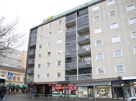 A picture of the hotel: Twin bedroom apartment at the heart of Pori! (ID 2981)