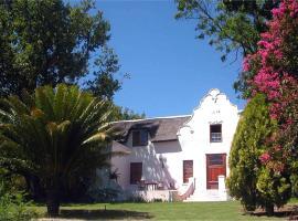 होटल की एक तस्वीर: Oude Wellington Estate