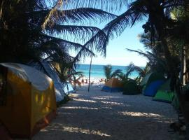 Hotel photo: Chavez Eco Beach Camping and Cabañas