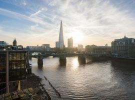 Hotel fotografie: Sublime 1 bed flat with Thames view