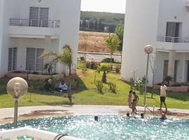 होटल की एक तस्वीर: Résidence les andalines