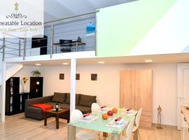 Hotel Photo: Modern Chic Apartment in Central Budapest