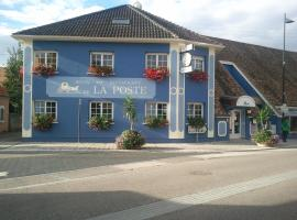Hotel photo: Hotel Restaurant De La Poste