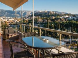 Hotel fotografie: Virgo - Loft with Spectacular View to Acropolis