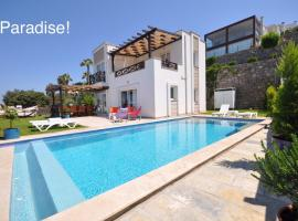 Hotel Foto: Luxury Villa with Amazing Sea View and Private Pool in Bodrum, Turkey