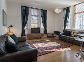 Фотография гостиницы: Stunning 2 bed flat in the heart of merchant city