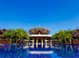 Hotel photo: Xishuangbanna Jinghong Zizailvju Yuejing Holiday Villa