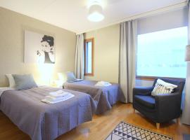 A picture of the hotel: Cozy two-bedroom apartment in Ruoholahti, Helsinki (ID 7385)