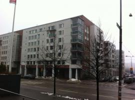 A picture of the hotel: Spacious sixth-floor three-bedroom apartment in Ruoholahti, Helsinki (ID 7399)