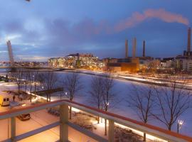 A picture of the hotel: Cozy studio apartment with excellent location in Ruoholahti, Helsinki (ID 7400)