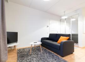 酒店照片: Top floor studio apartment in Center of Lappeenranta (ID 8821)