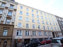 호텔 사진: Cozy, Superior-level studio apartment for one guest in the heart of Helsinki (ID 8912)