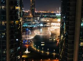 Hotel photo: Masterpiece {Ease By Emaar} - Downtown Burj Khalifa & Fountain Views