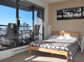 Hotel photo: 2 Beds - Skyline Views from Downtown Studio