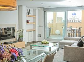 Hotel photo: Luxury penthouse in the center of Valencia