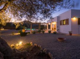 Hotel fotografie: Can Xocolata Ibiza Con Piscina Privada